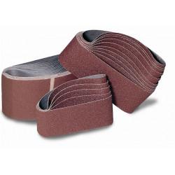 Banda Lija Gr 80 Oxido Aluminio 100x690 Mm Tela Flexovit