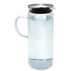 Jarra Agua Con Tapa 1,4l Borosilicato Iris