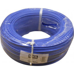 Cable Elec 2,5mmx100mt Hilo Flexible Nivel Cobre Az Libre Ha