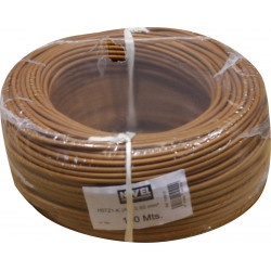 Cable Elec 2,5mmx100mt Hilo Flexible Nivel Cobre Marr Libre