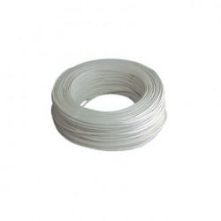 Cable Elec 2x1mm 100mt Mang Nivel Bl Rdo 750v M2010 100 Mt