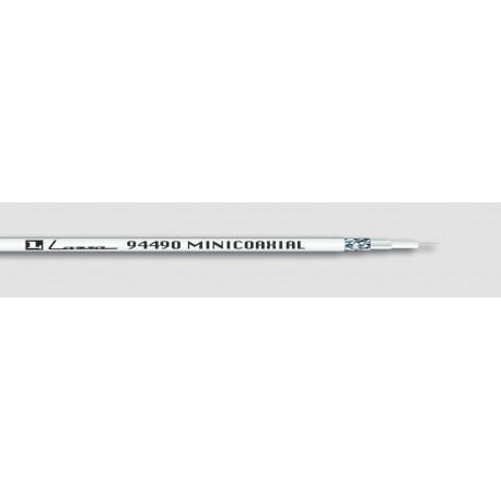 Cable Antena 3,3mm 100mt Coaxial Lazsa Bl Mini 30229 100 Mt