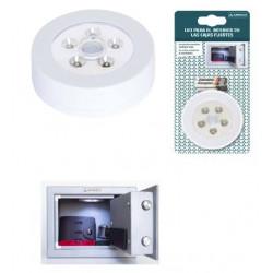 Luz Nocturna Ilumin Caja Fuerte Arregui Sensor Imanes Com001