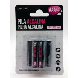 Pila Alcalina Lr03 Aaa Vivah 6 Pz