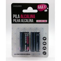 Pila Alcalina Lr03 Aaa Vivah 4 Pz