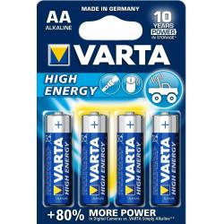 Pila Alcalina Lr06 Aa 1,5v Longlife Power Varta 4 Pz