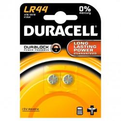 Pila Boton Lr44 Duracell 2 Pz