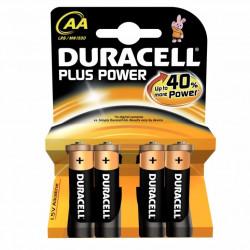 Pila Alcalina Lr06 Aa 1,5v Power Plus Duracell 4 Pz