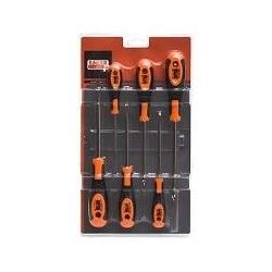 Destornillador 2rec+2pla+2phi 606 Bahco 6 Pz