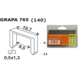Grapa Grapadora Modelo 765 10mm Ac Cofer 1.000 Pz