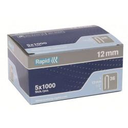 Grapa Elec Cable 10mm N§36 Rapid 5.000 Pz
