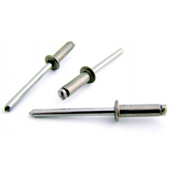 Remache Fij 4,8x14mm C/alom Inox 304 Bralo 250 Pz