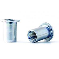 Tuerca Remach En10016 M-10 C/anch Acero Cinc Bralo 150 Pz