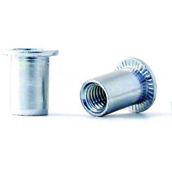 Tuerca Remach En10016 M-04 C/anch Acero Cinc Bralo 500 Pz