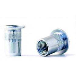 Tuerca Remach En10016 M-06 C/anch Acero Cinc Bralo 250 Pz
