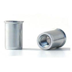 Tuerca Remach En10016 M-05 C/baja Acero Cinc Bralo 500 Pz