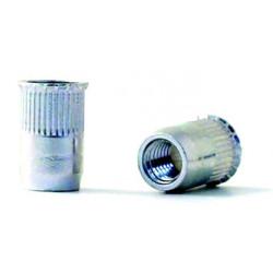 Tuerca Remach En10016 M-08 C/baja Acero Cinc Bralo 250 Pz