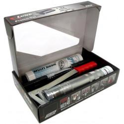 Bomba  Engrase Palanca Con Cartucho Aclop.rigido Metal/plast