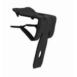 Clip Suspension Ø6,3mm Espesor 03-10mm X Ancho 25mm Fosf.neg
