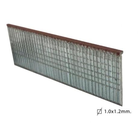 Clavo Clavad.neum Modelo T 10mm H. Cinc Brico Ok 1.000 Pz