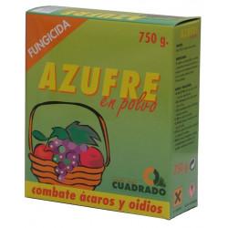 Azufre Polvo I.q.cuadrado Caja 415023 750 Gr