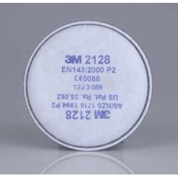 Filtro Mascarilla Particulas Vap Acid Conex.bayon. 2pz P2r 3