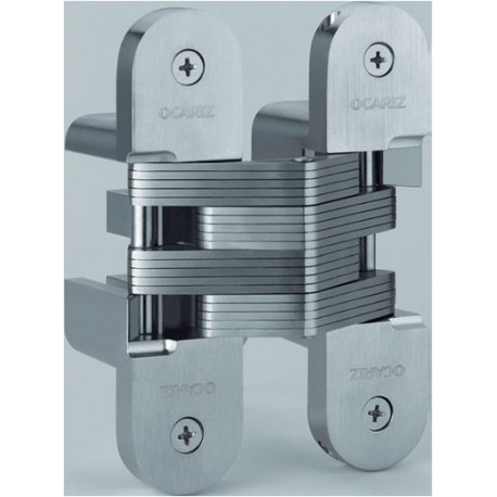 Bisagra Embutir Invisible 095mm 190-r/95 Inox Ocariz