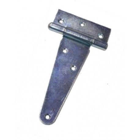 Bisagra Mueb Forma T 200mm Cinc Micel