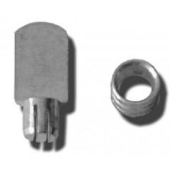 Casquillo Armario 9x7,5mm Pres Micel Niq 31522