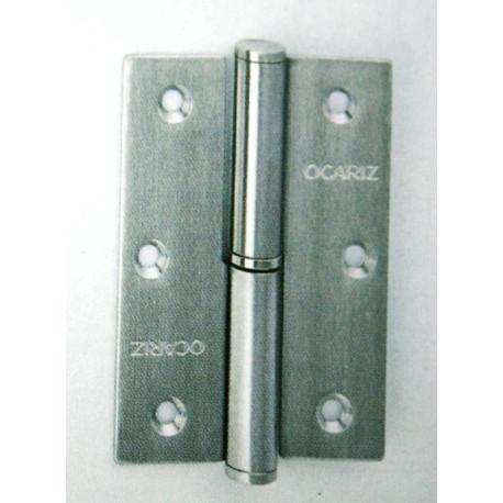 Pernio Carp 90x65mm Ocariz Inox304 C/cu S/rem Dch 90c