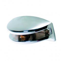 Soporte Estant 10mm Media Luna Micel Plata/br 32512