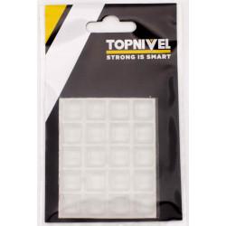 Tope Prot.golpes 12,5x12,5x5,8mm Adh Antidesl Tra Nivel 20 P