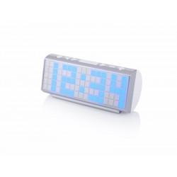 Radio Portatil Reloj Despertador Audiosonic Numeros Grandes