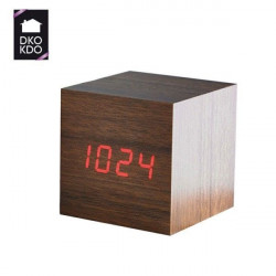 Reloj Despertador 6x6x6cm Cmp Paris Mad Led