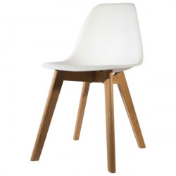 Silla Diseño The Concept Blanca Stockholm