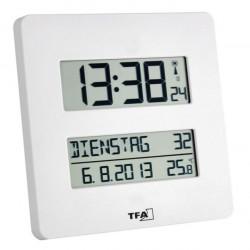Reloj 195x195x27mm Digit. Tfa Bl Multif