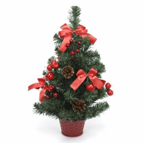 Arbol Navidad 50cm Decorado Juinsa