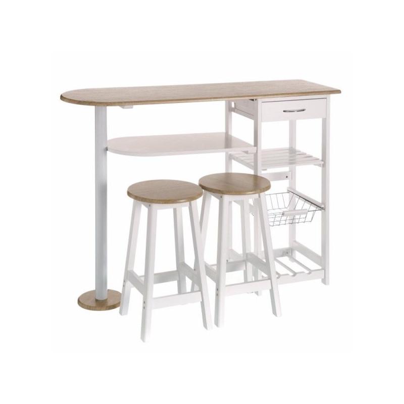 Verdulero coc mesa 120x37x89cm 2 taburetes unimasa masferreteria - Cocinas conforama opiniones ...