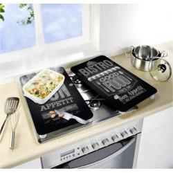 Tabla Coc 30x52cm Prot Vitroc Vidrio Bon Appetit Wenko