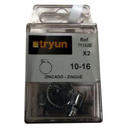 Abraz Normal Baja Pr. 10-16mm Tryun 2 Pz