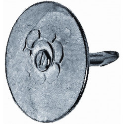 Chincheta Fij Plana 09mm Latonada Hsi 100 Pz