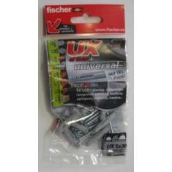 Taco Fij Tornillo 4x40 05x030mm Fischer 10 Pz