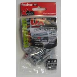 Taco Fij Tornillo 5x50 08x040mm Fischer 4 Pz
