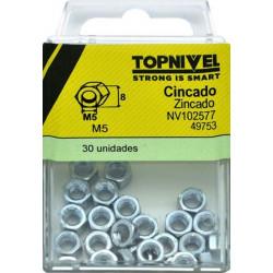 Tuerca Hexagonal 934 M05 Cinc Nivel 30 Pz
