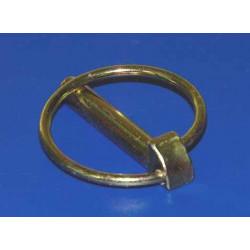 Pasador Anilla Norma11023 10mm Cinc Acero Tratado Anzuola 50