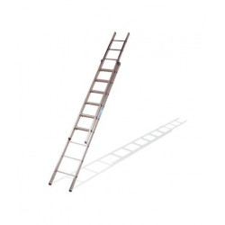 Escalera Doble Extension Manual 6x2 2,87 Metros