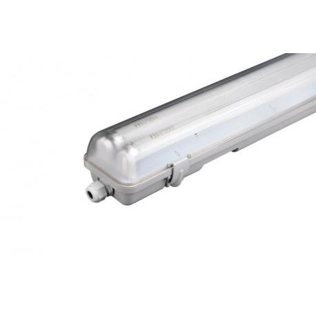 Pantalla Ilumin 2x18w Estanca Fenoplastica Pvc Electrif. Tub
