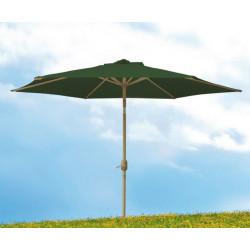 Parasol Jard 2,70mt Natuur Alu Ver S/fald Rot.sup Nt109811