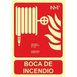 Cartel Señal 210x300mm Luminiscente Pvc Manguera Normaluz