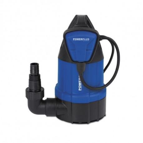 Bomba Agua Sum. 250w-5000l/h Limp 6mt Powerplus